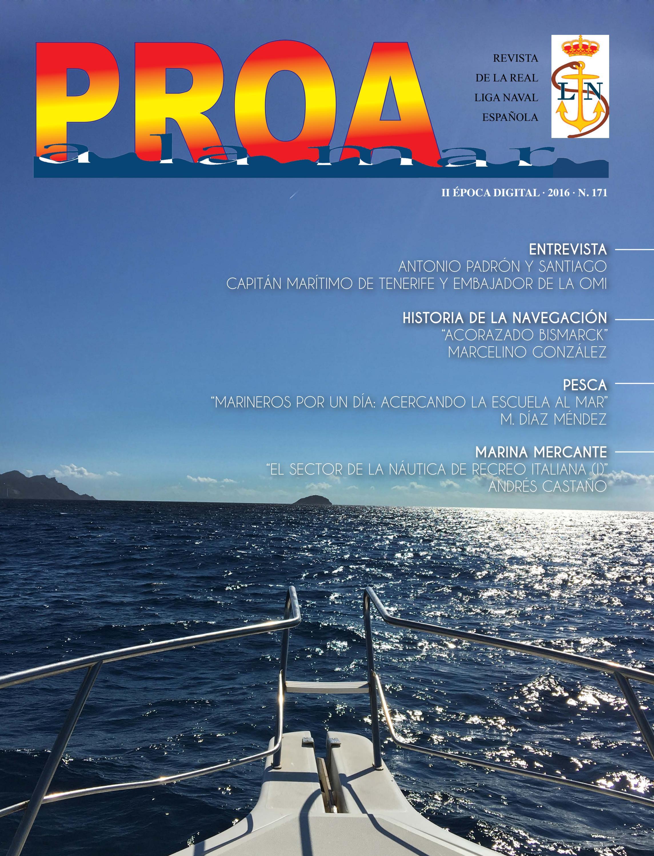 Proa a la mar 171 by Real Liga Naval Española - issuu 2f93d8d6a9a