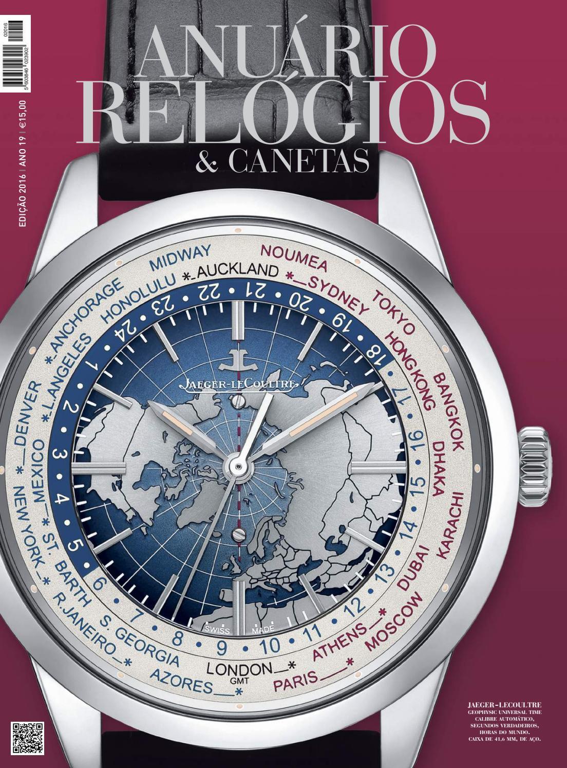 90b9911419b Anuário Relógios   Canetas - 2016 (versão digital da revista em papel) by  Anuário Relógios   Canetas - issuu