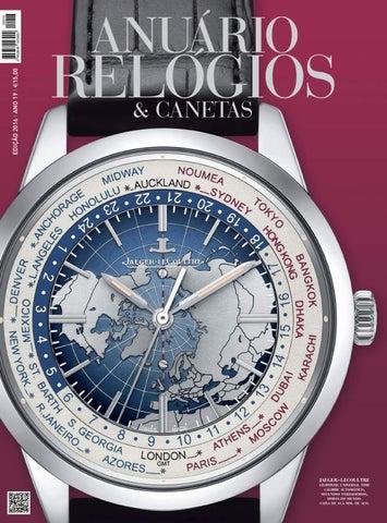 fca0fc5264a Anuário Relógios   Canetas - 2016 (versão digital da revista em papel)