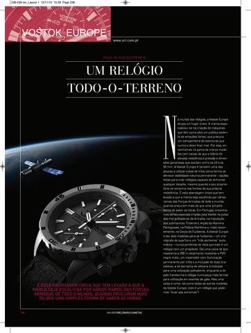 0e4a2990ed5 Anuário Relógios   Canetas - 2016 (versão digital da revista em ...