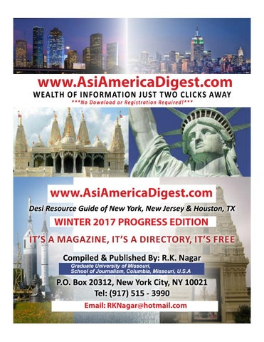 Asiamerica digest winter 2017 progress edition by AsiAmerica Digest on