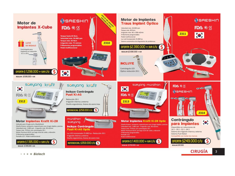 c3748f773d9 Catalogo de productos Biotech by Biotech Ltda - issuu