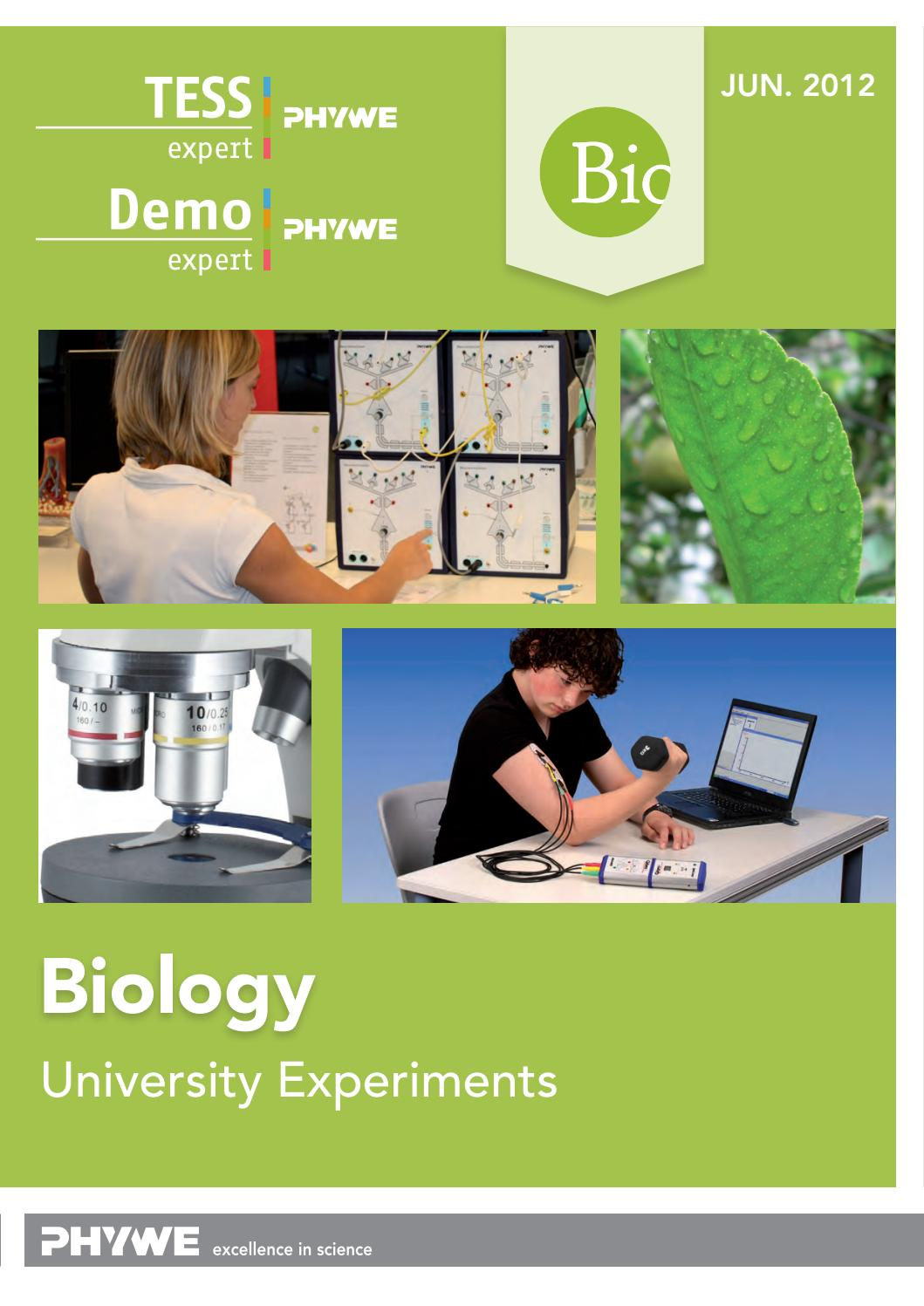 Tess Expert Biology By Phywe Systeme Gmbh Co Kg Issuu Electronic Thermometer Circuit Circuits