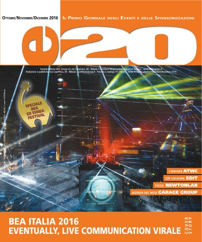 e20 Ott-Nov-Dic 2016 by ADC Group - issuu 8d01f82b3ba