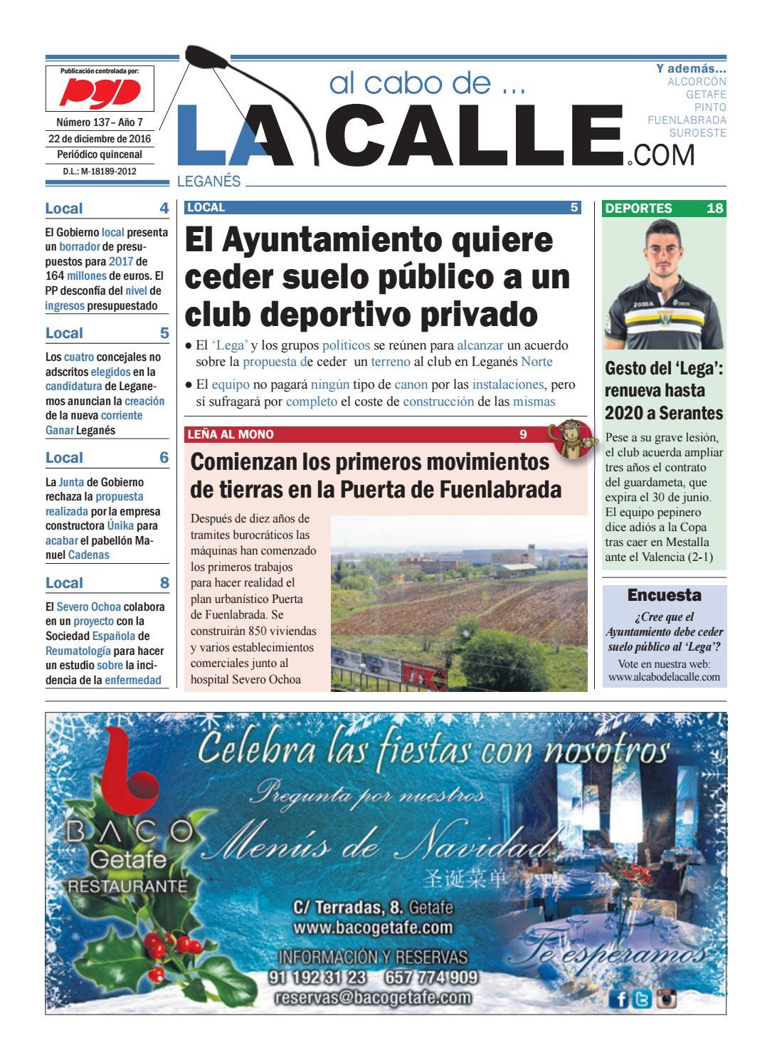 Leganes 137 by al cabo de la calle issuu for Validez acuerdo privado clausula suelo