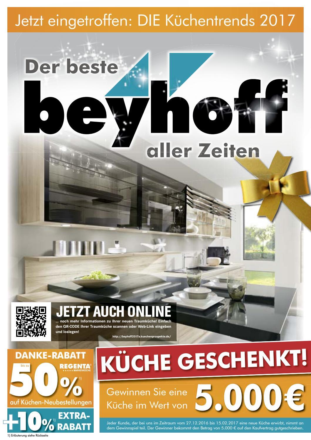 m bel beyhoff k chenprospekt 2017 by m bel beyhoff gmbh beyhoff issuu On möbel as küchenprospekt