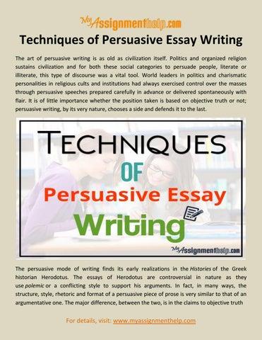 help writing persuasive essay