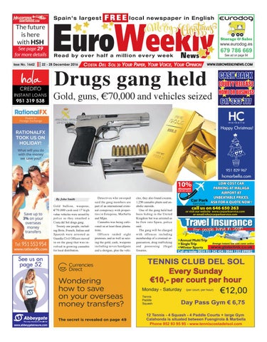 Euro Weekly News Costa Del Sol 22 28 December 2016 Issue 1642