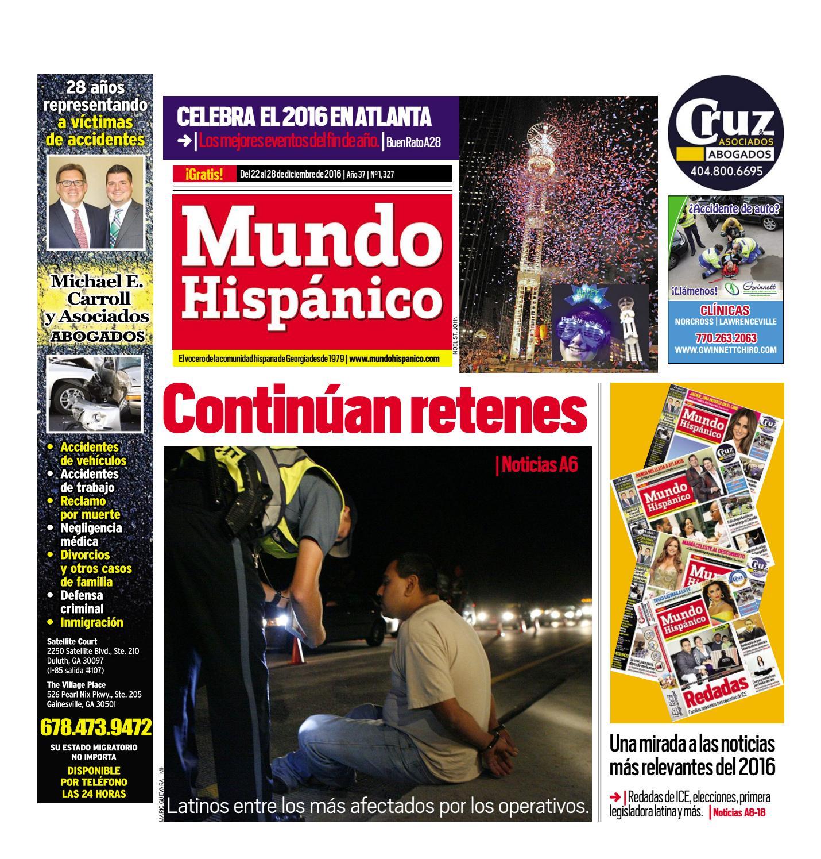 Continúan retenes by MUNDO HISPANICO - issuu