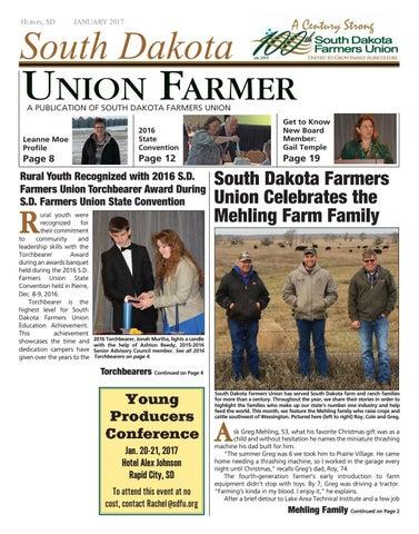 January 2017 By South Dakota Farmers Union Issuu