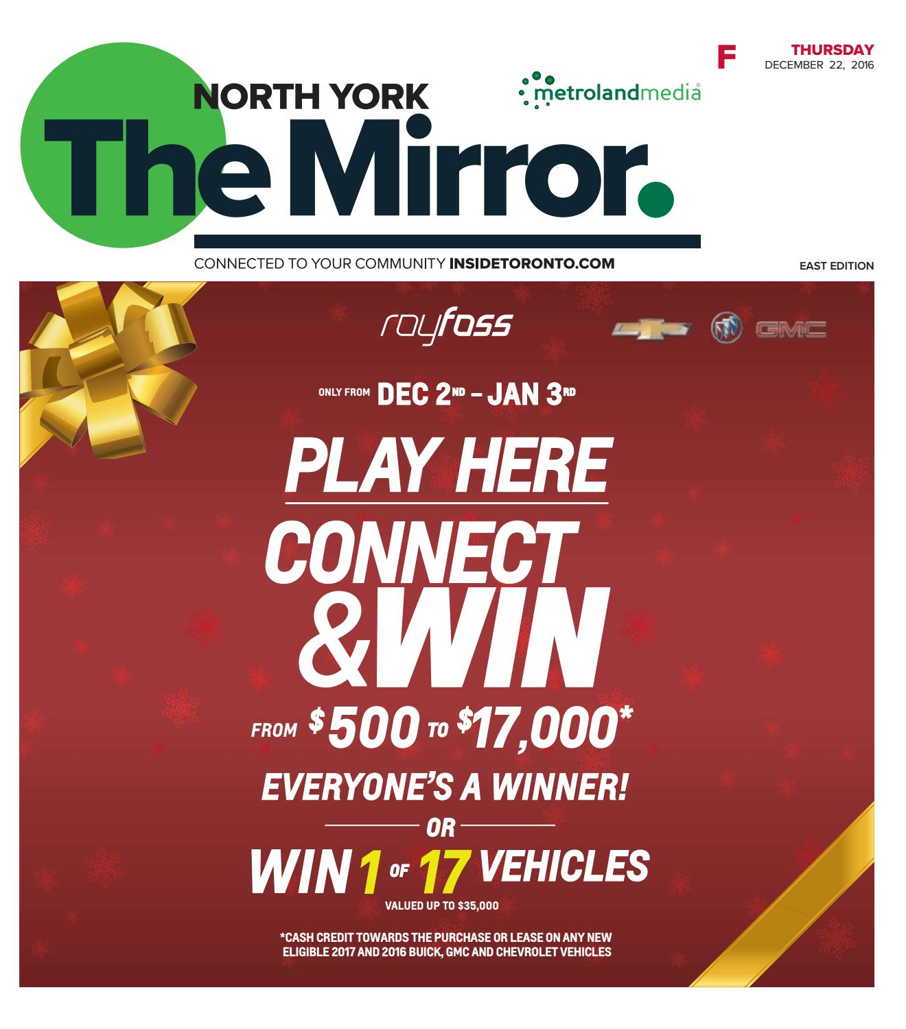 The North York Mirror East December 22 2016 by The North York
