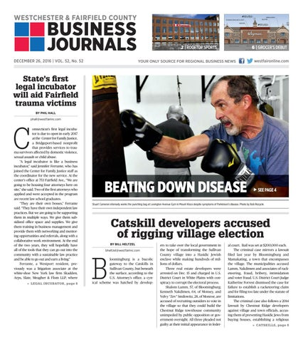 ad2d1ca078977 Westchester & Fairfield County Business Journals' 122616 by Wag ...