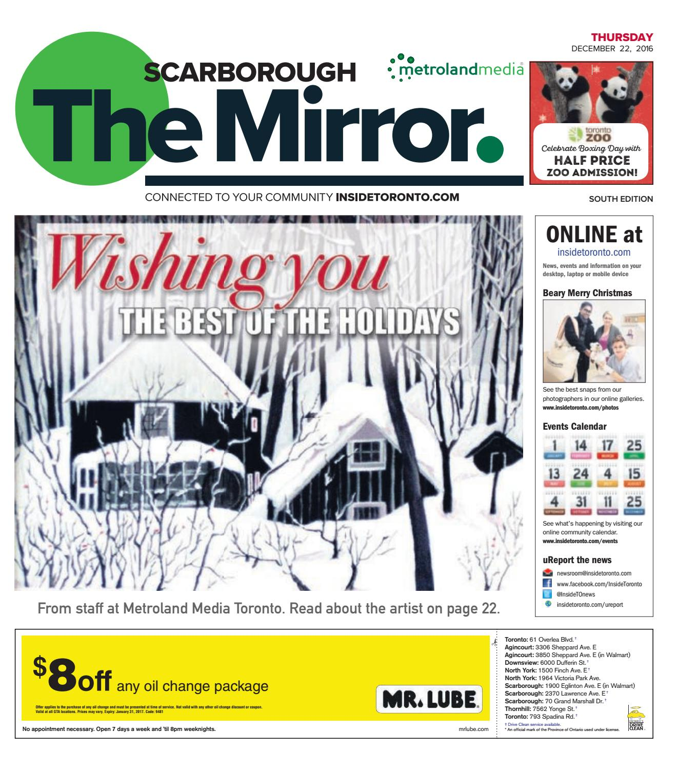 The Scarborough Mirror, South, December 22, 2016 by The Scarborough ...