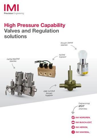 Compressed Natural Gas High Pressure Regulator