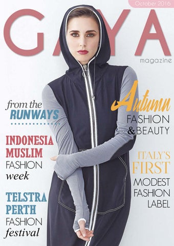 213b1e0607 GAYA Magazine Oct 16 - Hijab & modest fashion for today's Muslim ...