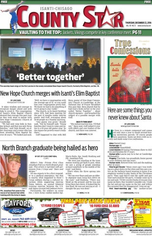 Isanti-Chisago County Star December 22, 2016 by Isanti ... on