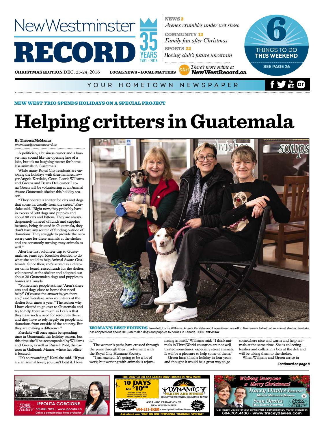 New Westminster Record December 22 2016 By Royal City Record Issuu