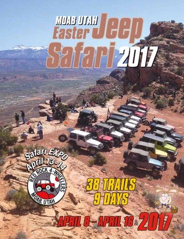 0cd401d1917e15 Easter Jeep Safari 2017 Magazine by Red Rock 4 Wheelers - issuu