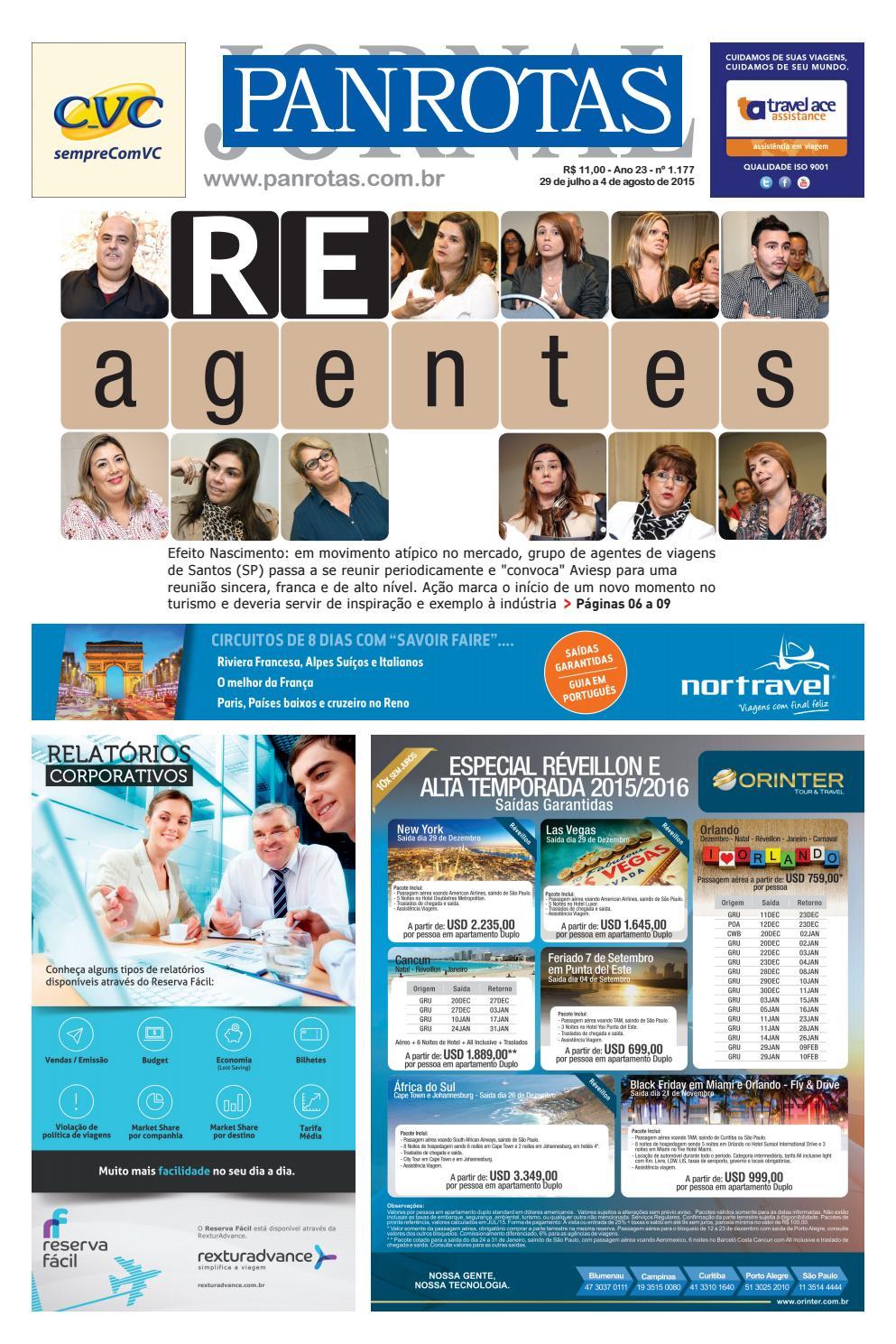 3a34fe555 Jornal PANROTAS 1177 by PANROTAS Editora - issuu