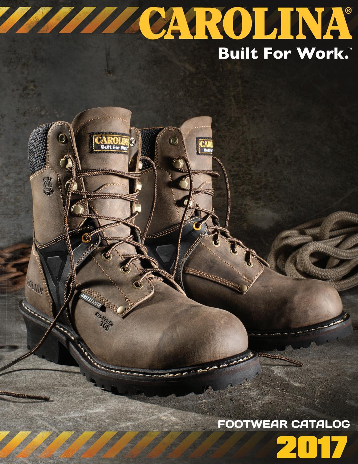 Carolina Mens 6 Steel Toe 3510
