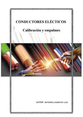 Manual de conductores y empalmes by Luis - issuu