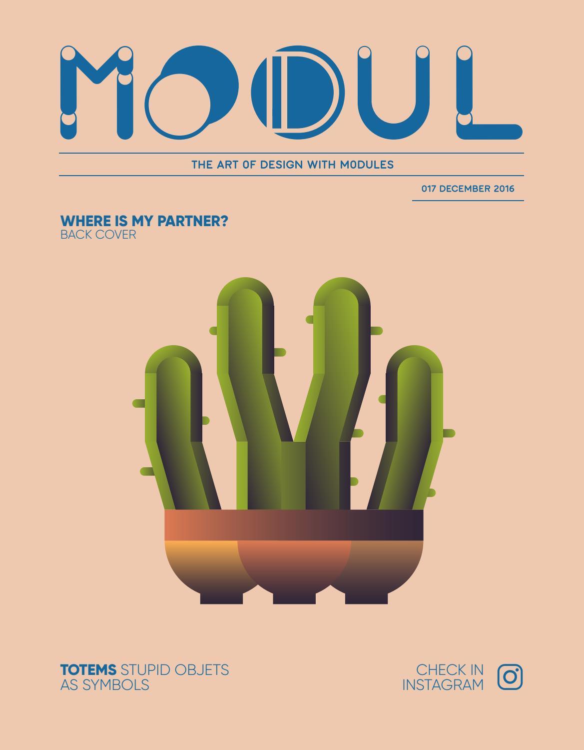 Modul Fanzine - Magazine cover