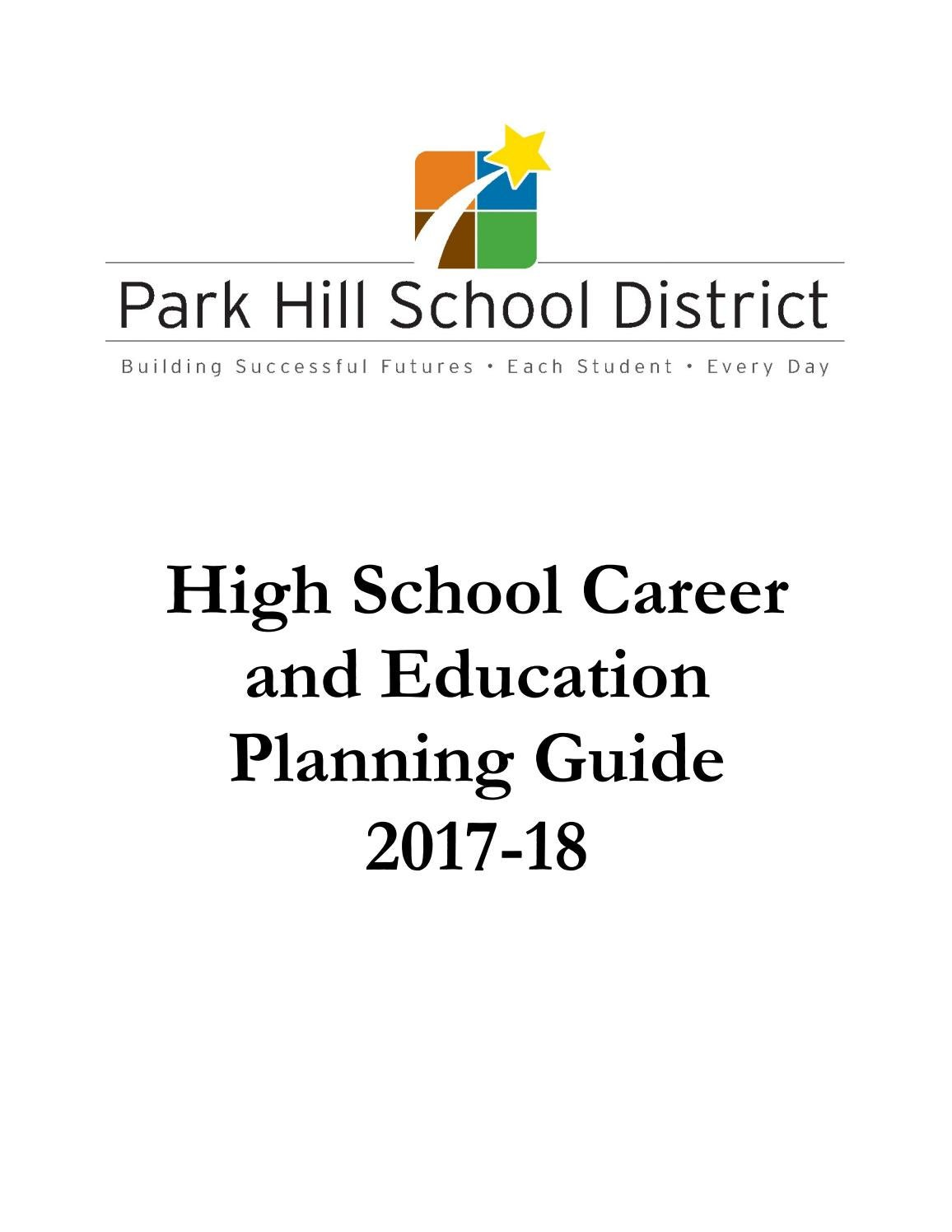 2017 18 high school career and education planning guide by