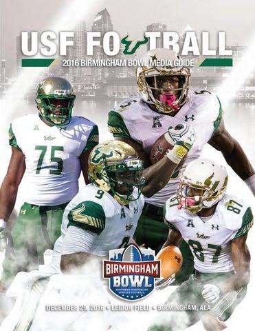 2016 USF Bowl Media Guide by USF Bulls - issuu 1b2c9df61