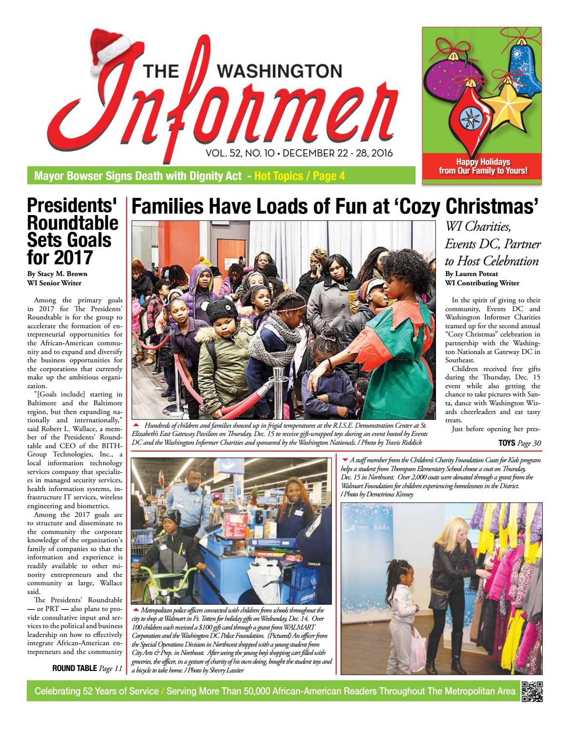 01ee9c540 The Washington Informer - December 22, 2016 by The Washington Informer -  issuu