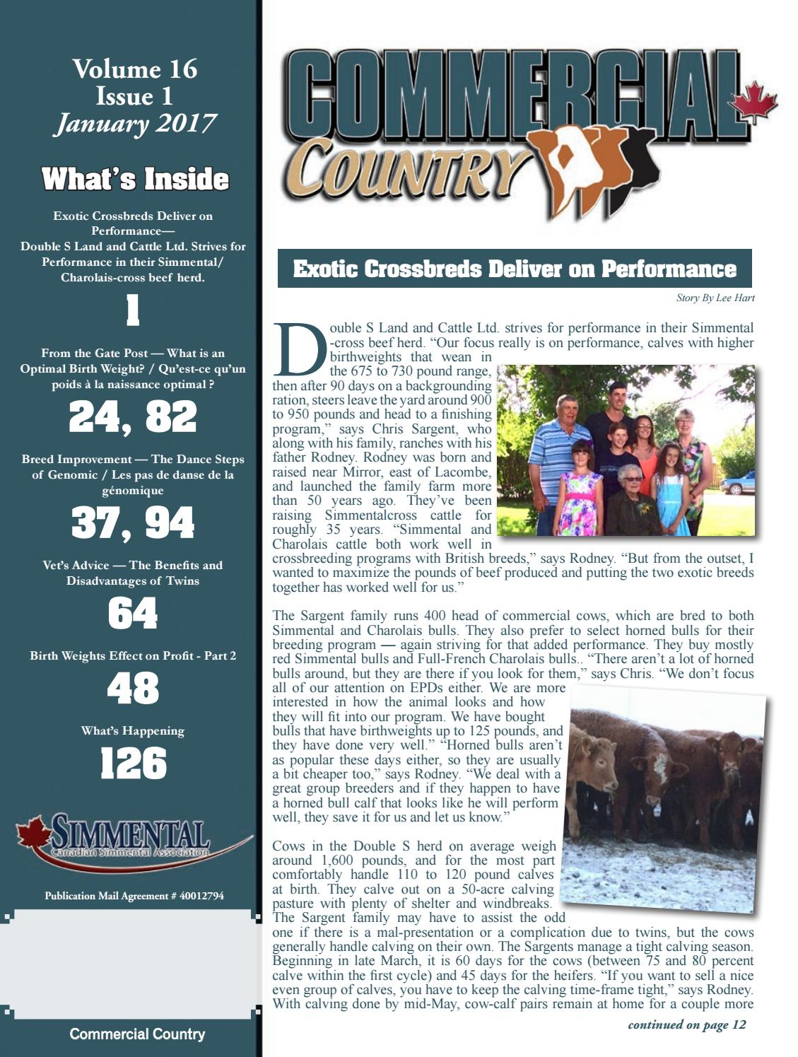 Commercial Country January 2017 by Today's Publishing Inc