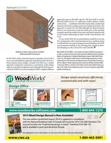 Wood Design Building Winter 2016 17 By Dovetail Communications Issuu