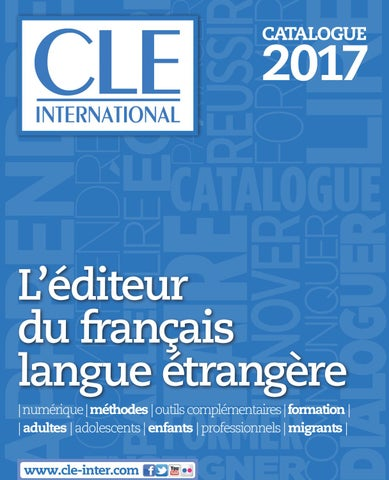 Catalogue 2017 cle international by cle international issuu page 1 fandeluxe Images