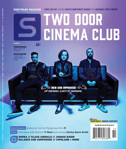 bbb3df72385b Substream Magazine Issue 54 featuring Two Door Cinema Club by ...