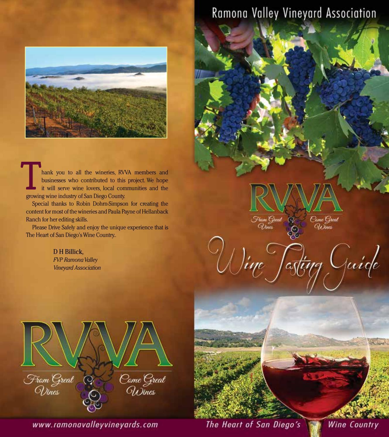 Ramona Wine Country 2016 By ROX Media Group