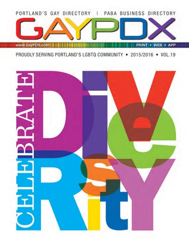 2015 2016 GAYPDX Directory By Michael Marcheschi