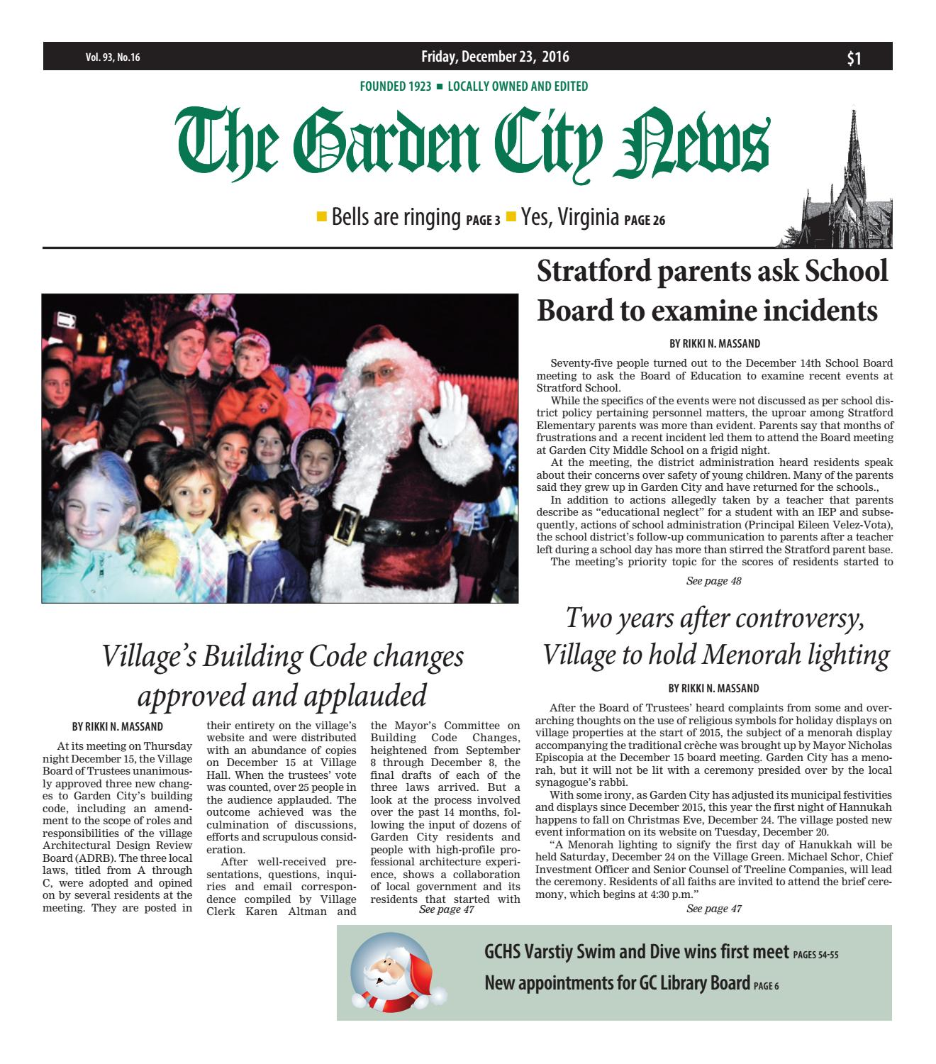 bb434b7147 The Garden City News by Litmor Publishing - issuu