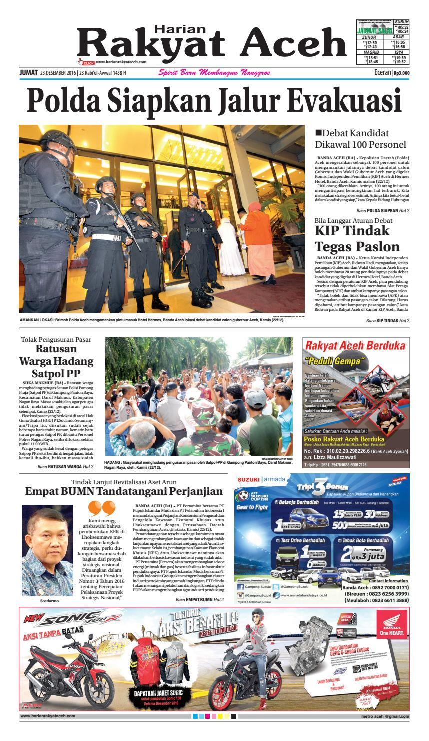 23 Decemberr 2016 By E Rakyat Aceh Issuu Produk Ukm Bumn Batik Tulis Warna Alam Ra Ampamp