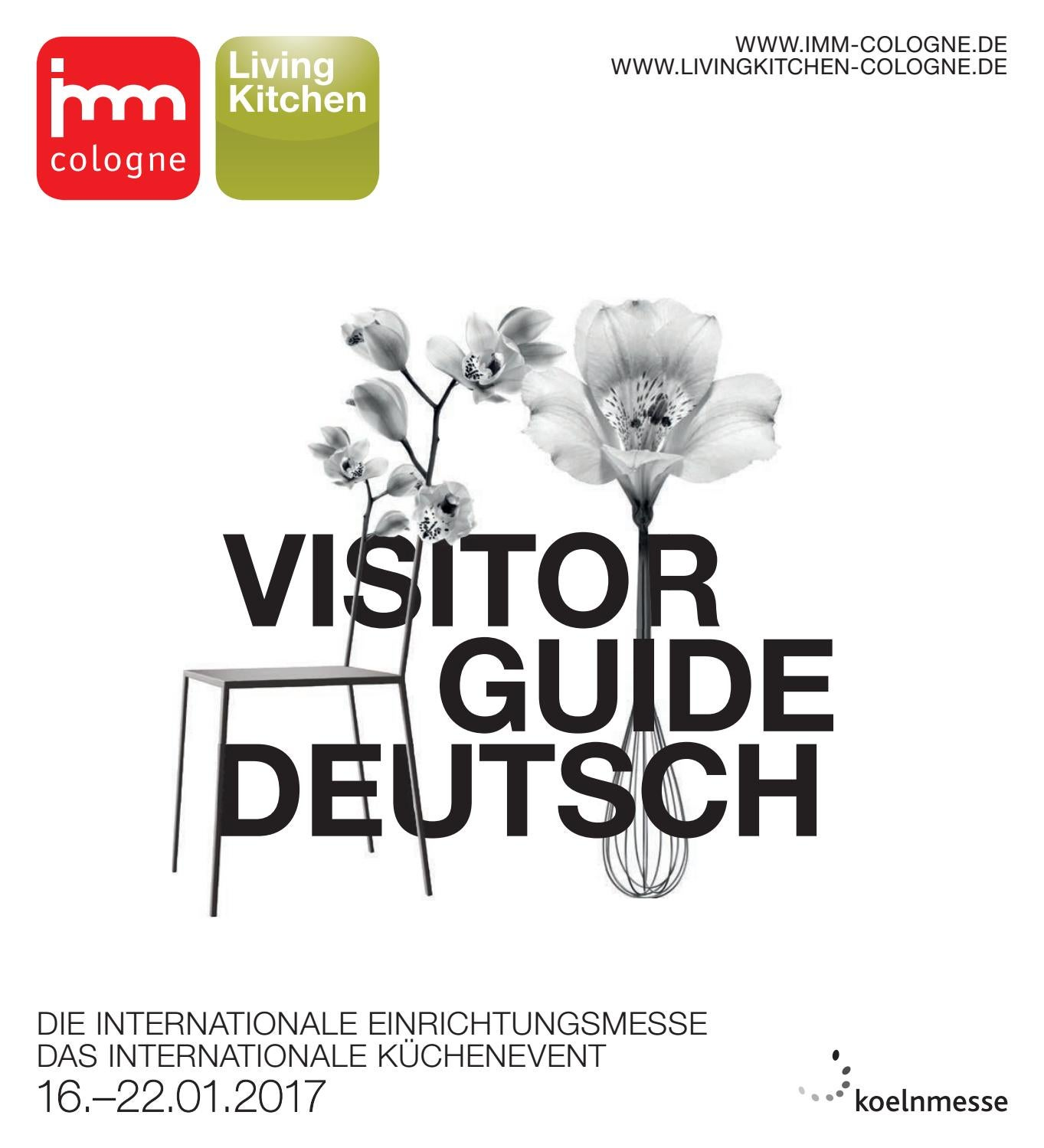 Imm livingkitchen 2017 visitor guide de 150dpi by Koelnmesse GmbH ...