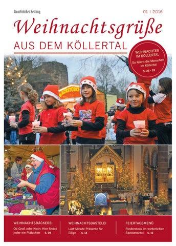 Weihnachtsgrüße An Erzieherinnen.Weihnachtsgrüsse Aus Dem Köllertal 01 2016