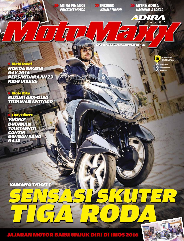 Motomaxx 12 2016 By Adira Member Issuu New Vario 125 Esp Cbs Sonic White Red Kab Semarang