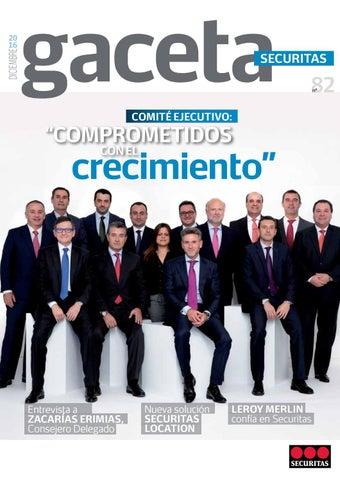 Gaceta Securitas 82 By Securitas Seguridad España Issuu
