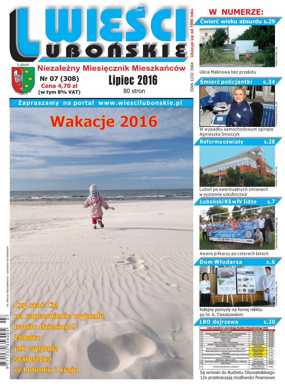 Wieści Lubońskie 201607 By Wiescilubonskie Issuu