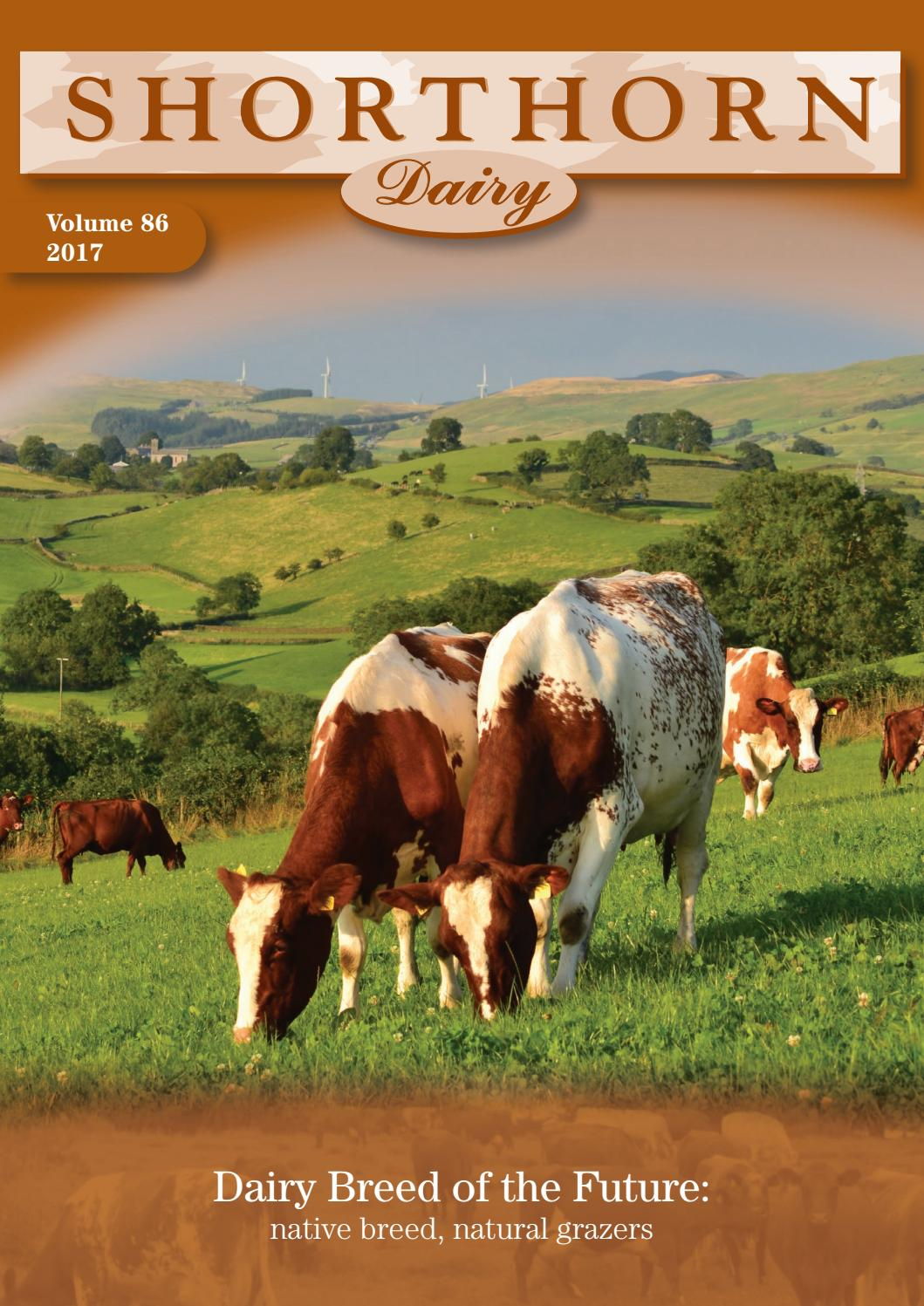 dairy shorthorn journal 2017 by alan peedle