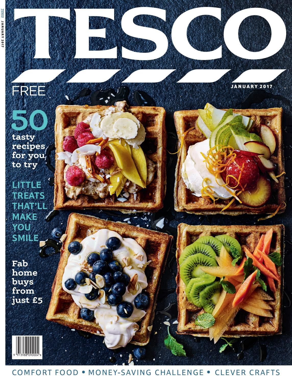 Tesco magazine january 2017 by tesco magazine issuu forumfinder Images