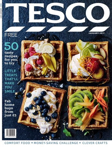 ae1c91ce26f6 Tesco magazine – January 2017 by Tesco magazine - issuu