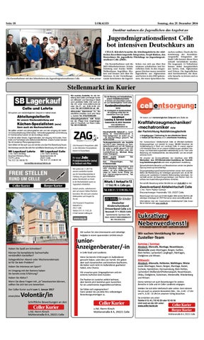 Kw51 Celler Kurier Ausgabe Sonntag By Celler Kurier Issuu