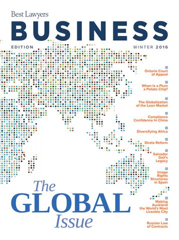 9711d6f55de29d Global Business Issue 2016 by Best Lawyers - issuu