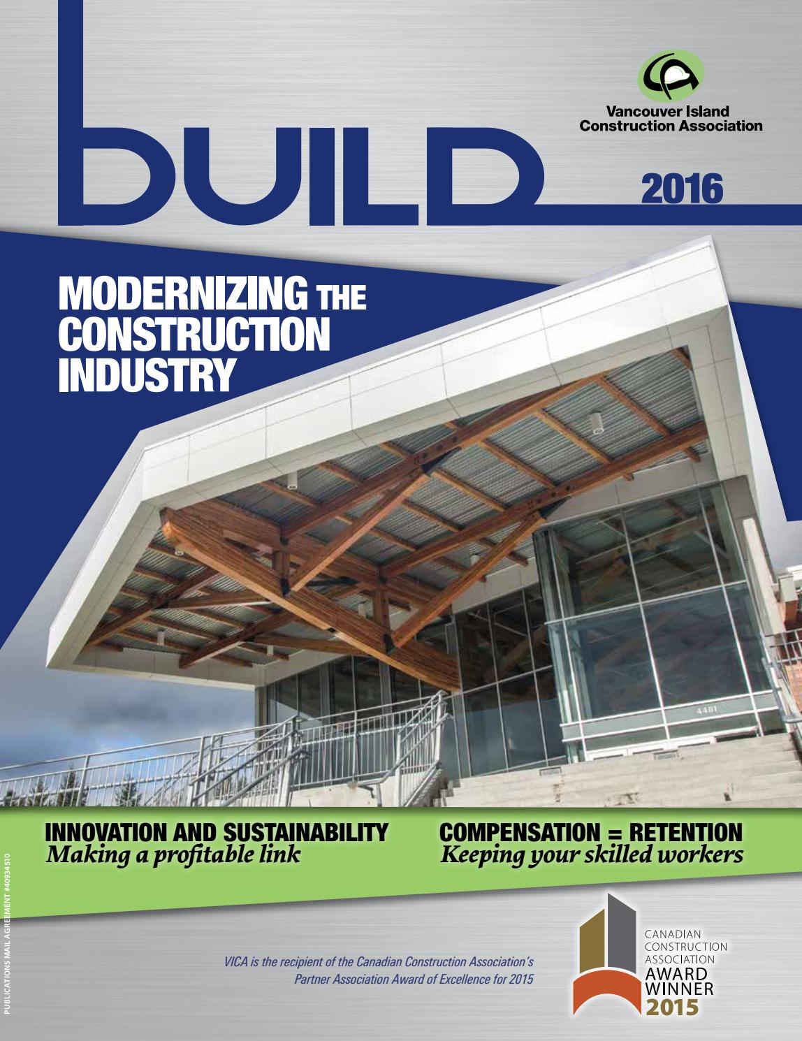 Build Magazine 2016 By Vancouver Island Construction