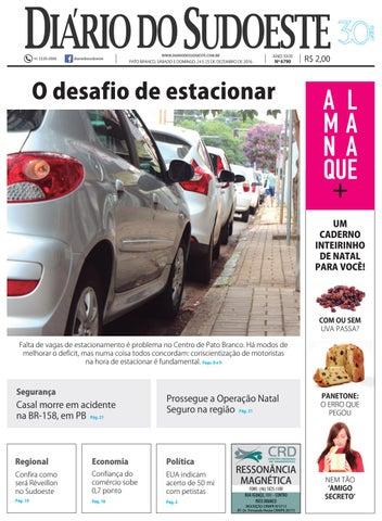 67a75b3ae Diário do sudoeste 24 e 25 de dezembro de 2016 ed 6790 by Diário do ...
