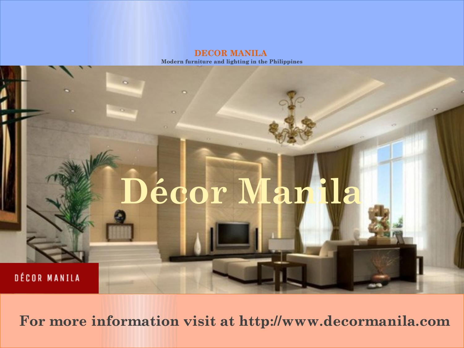 Modern Furniture Philippines luxury home decor collections online in manila philippines